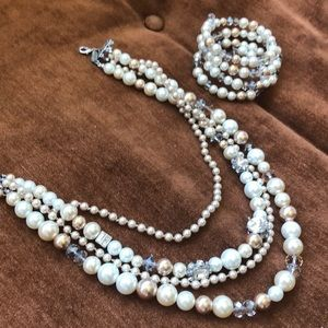Pearl Costume jewelry